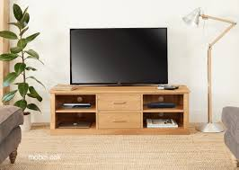 Stunning baumhaus mobel Oak Dining Baumhaus Mobel Oak Mounted Widescreen Television Cabinet Furniture Direct Uk Baumhaus Mobel Oak Mounted Widescreen Television Cabinet Nico