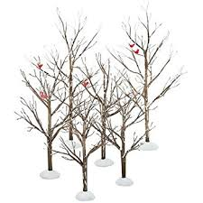 Christmas Tree Village Display Stands Amazon Department 100 Village Bare Branch Trees Accessory 96