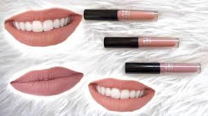 makeup forever artist liquid matte lipsticks lip swatches wear test