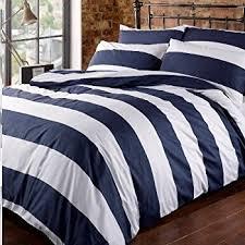 blue and white striped duvet cover. Interesting White Louisiana Bedding Horizontal Navy U0026 White Stripe Duvet Cover Set Blue 100  Cotton 200 Thread On And Striped E