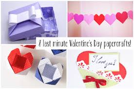 last minute valentine s day craft diys paper kawaii