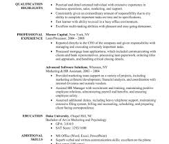 Mba Application Resume Examples Sample Having Year Experience How To ...