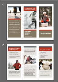 make tri fold brochures how to make tri folds in powerpoint