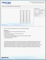 Avery Label Templates 8160 Avery 8160 Template Open Office Iceird Letter Template