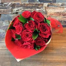 Red Paper Flower Love Red Roses In Los Angeles Ca Brendas Flowers
