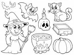 Small Picture Free Coloring Pages Halloween Printable Coloring Pages Kids