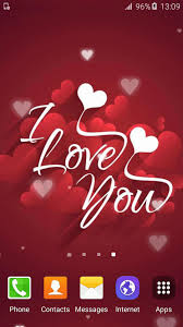 I Love You Live Wallpapers Hd For Android Apk Download