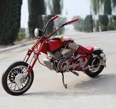 handmade antique tin model motorbike 1950 handmade antinque