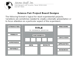Science Projects Display Boards Science Project Boards