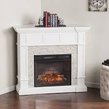 simulated stone electric fireplace