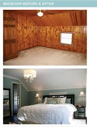 bedroom paneling ideas: great paneled room make over the blog has before and after shots of the whole