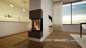 Schiedel Kingfire Grande S Kaminofen Mit 3 Seitigem