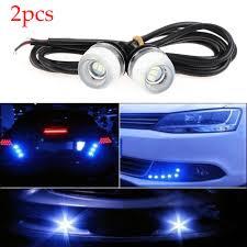 Led Car Signal Lights Us 1 69 20 Off 2pcs Eagle Eye 3smd 5630 Led Car Lights Drl Daytime Running Fog Driving Signal Lights 12v Led Car Lamp In Signal Lamp From