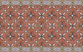 fascinating moroccan style tiles of cement floor tiles mosaic hand painted cement