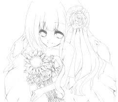 桜乃うさぎさんのイラストレーション 線画塗り絵イラストコンテスト