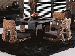 ... dining room Large-size Dining Room Table Bench With Cushion Home Japanese  Low. dining ...