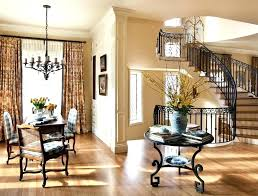 transitional chandeliers for foyer round table dining room traditional with beige walls chandelier curtain chandel