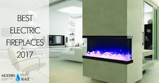 efficient electric fireplace heaters typical best electric fireplaces of 2017 modern blaze