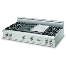 architecture gas range with griddle top new kitchenaid 36 in cooktop stainless steel and 4