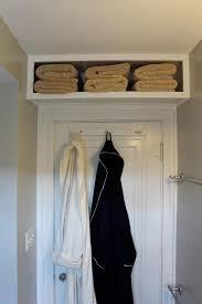 Over the Door Towel Shelf | Bathroom in 2019 | Small bedroom storage ...