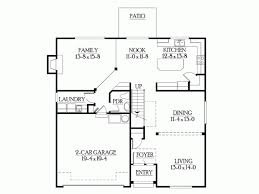 eplans craftsman house plan compact footprint with no wasted space