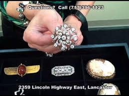 antique vine estate jewelry veleska jewelry lancaster pa platinum 18k brooch