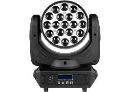 zoom 19pcs 15w led moving head wash concert wedding stage light red green blue