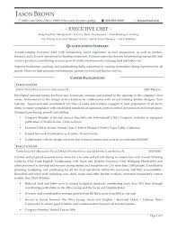 Executive Chef Resume Template Pastry Chef Resume Chef Sample Resume