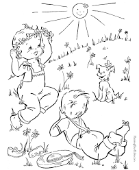 spring pictures to color. Modren Spring Fun Spring Color Sheet For Kid On Pictures To Color U