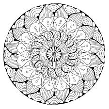 Free Printable Mandala Coloring Pages V7497 Of Free Printable