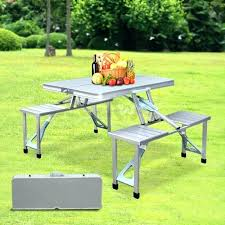 fold up picnic table and chairs folding camping picnic table chairs pictures ideas