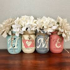 Painted Mason Jars How To Paint And Distress Mason Jars Distressed Mason Jars