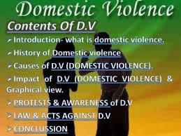 Ppt On Domestic Violence