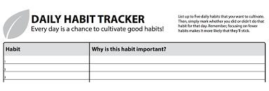 Day Tracker Planner The Daily Habit Tracker Productive Flourishing