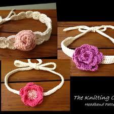 Crochet Baby Headband Pattern Magnificent Shop Crochet Baby Headband Pattern On Wanelo