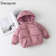 winter 2018 new baby winter coat spring jackets infant toddler boys girls warm hooded jacket kids