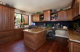 custom home office furniture. coco office in premier with crown molding and base custom home furniture