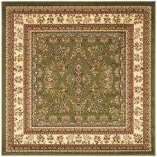 safavieh lyndhurst sage ivory 6 ft x 6 ft square area rug