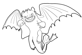 Small Picture How to train your dragon coloring pages toothless ColoringStar