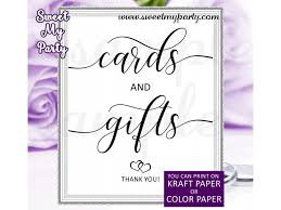 rustic wedding cards and gifts sign wedding signs 022w