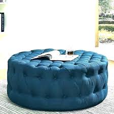 blue leather ottoman oman navy precious images amour storage