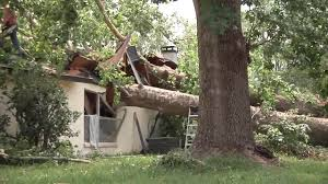 Storm damages 45 Clay County homes