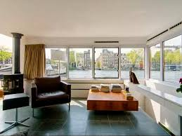 Interior  Awesome CI Airbnb Amsterdam Houseboat Interiorjpgrend - 1950s house interior