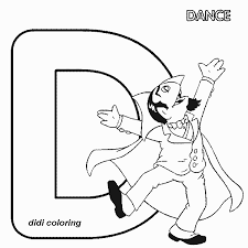Small Picture The Letter D Coloring Pages Amazing Diddle Alphabet Color School