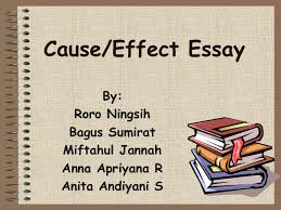 cause effect essay