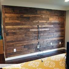 accent wall ideas 20 diy pallet wall love this by the time we own a house this won t be cool anymore but i love it right now