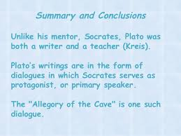 an analysis and interpretation of plato s allegory of the cave summary