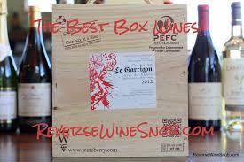 The Best Box Wine The Reverse Wine Snob Picks
