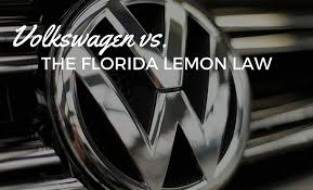 Volkswagen Vs The Florida Lemon Law Wolf And Pravato