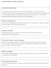 Product Business Plan Template – Mklaw